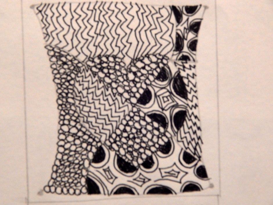 Zentangle Day 1