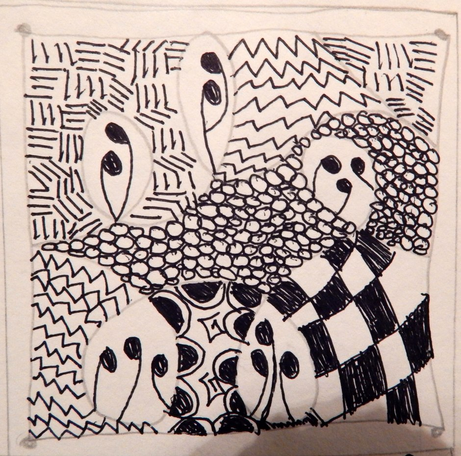 Zentangle Day 2
