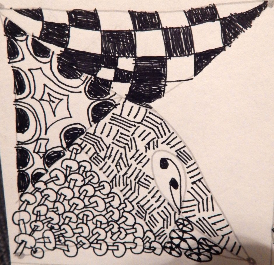 Zentangle Day 3